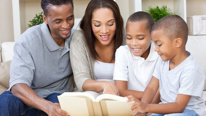 Every February, Read To Succeed literacy initiative encourages families to UNPLUG and Read. Yes, put down those screens, turn of the television and computers, and spend time together.