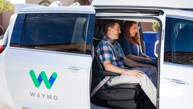 Select Phoenix residents have been testing Waymo's self-driving car service for the past few months, in anticipation of Waymo's announcement that it will make 600 Pacificas available to a few hundred testers in the Phoenix area.
