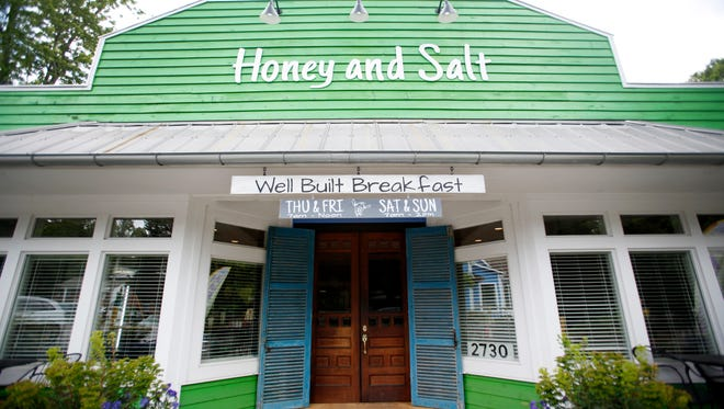 Breakfast and brunch restaurant Honey and Salt opened in March in Flat Rock.