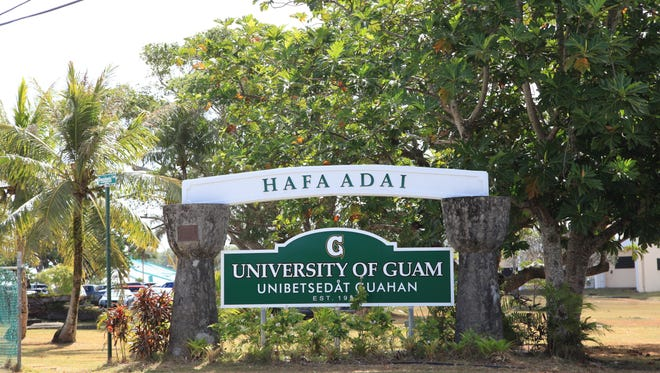 The University of Guam photographed on March 5, 2015.