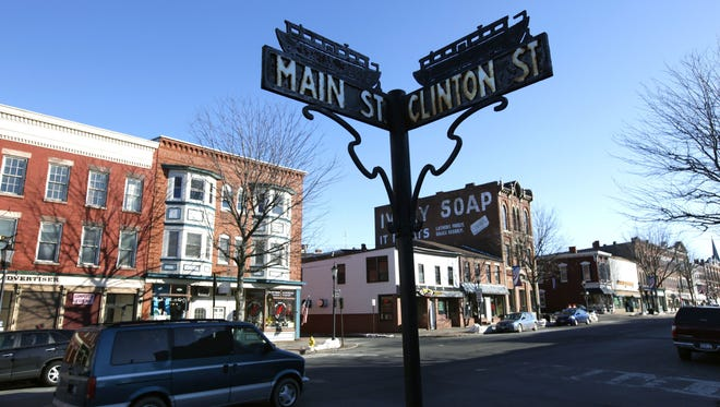 Main Street in Brockport. The village offers an eclectic mix of shops and eateries.
