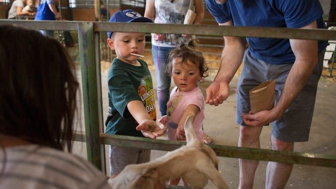 County residents celebrate the 2017 Washington County Fair Saturday, Aug. 12, 2017.