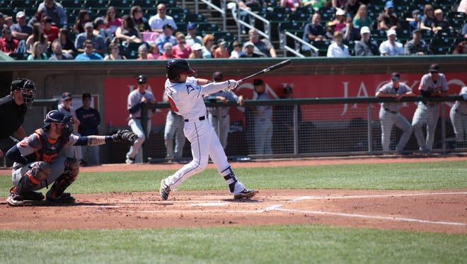 Ex-Lansing Lugnuts shortstop Bo Bichette was named the most valuable player and top prospect in the Midwest League.