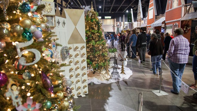 The Jubilee of Trees, typically held in the Dixie Convention Center in St. George as it was in this Spectrum file photo, is going virtual for 2020. The Virtual Jubilee of Trees will be held Thursday, Nov. 19 through Saturday, Nov. 21, 2020.