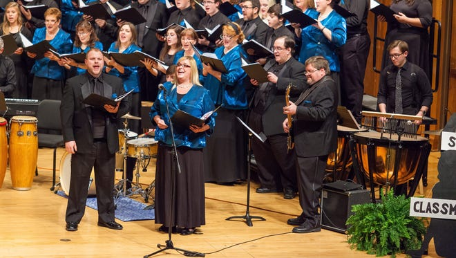 The newVoices choir will perform Christmas concerts in Appleton and Green Bay.