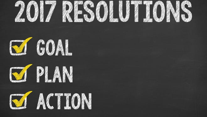 Making New Year's resolutions is easy. Keeping them is hard.