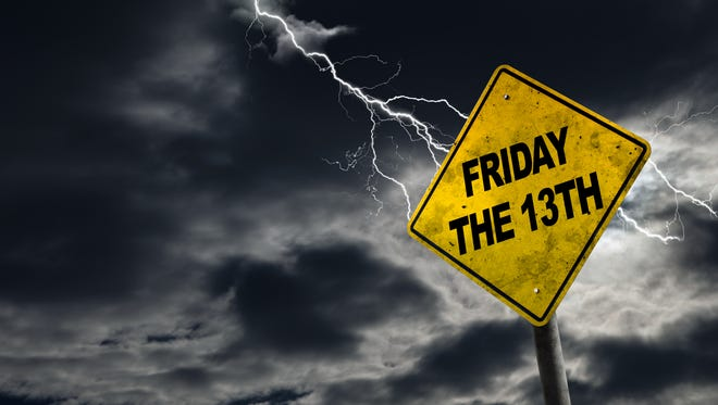Friday the 13th is on April 13.