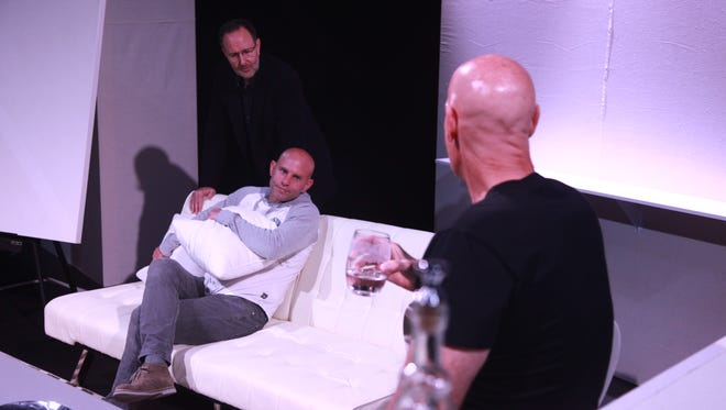 """Kent Harrison Hayes, Philippe Hall and Garry Peter Morris in a scene from """"Art"""""""