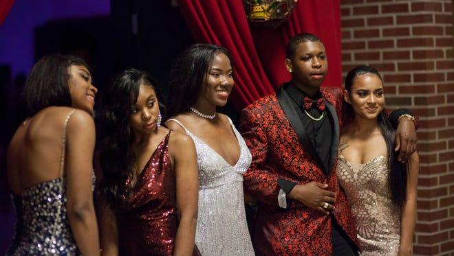 Northwest High School held their prom at the school gymnasium on Saturday.