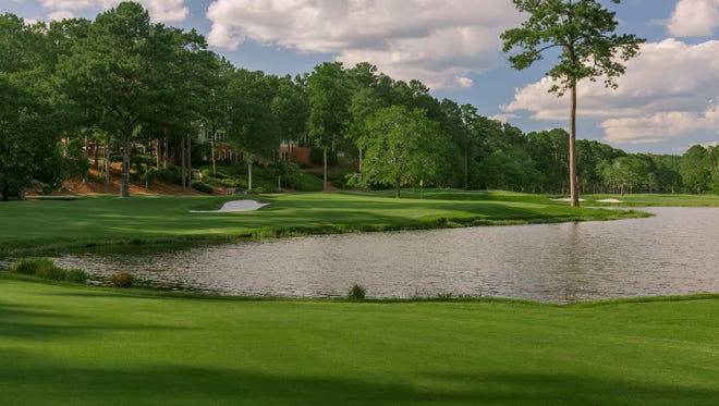 The ninth hole of  Shoal Creek Golf Club in Shoal Creek, AL. (Copyright USGA/Russell Kirk)