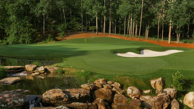 The 17th Hole of Shoal Creek Golf Club in the Shoal Creek, Ala.(Copyright USGA/Russell Kirk)