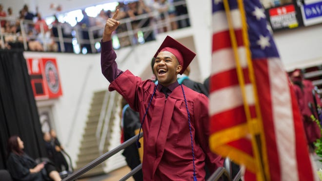 West Creek High School held their graduation ceremony at the Austin Peay State University Dunn Center on Thursday.