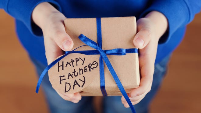 Dads don't care about gifts on Father's Day.