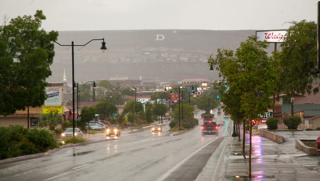 Southern Utah will likely see its first significant rain of the year on Saturday and Sunday this weekend.
