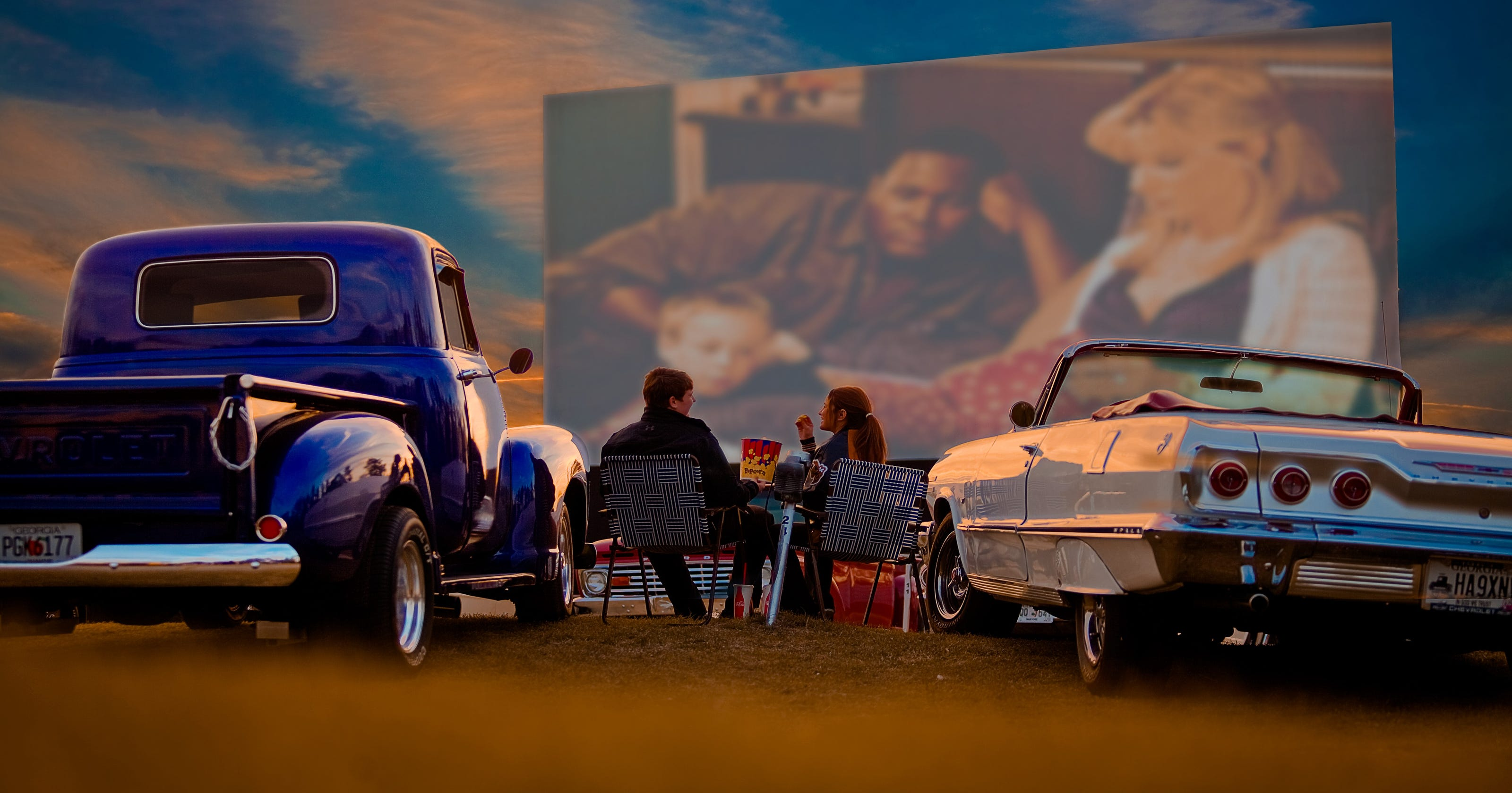 Movie theaters vs. drive-ins: What a drive-in theater does (or doesn't) offer - USA TODAY