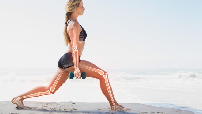 Weight training is among the best ways to build bone strength.