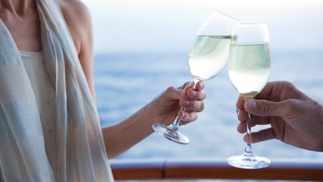 Wine tastings are among the offerings on Regent Seven Seas voyages.