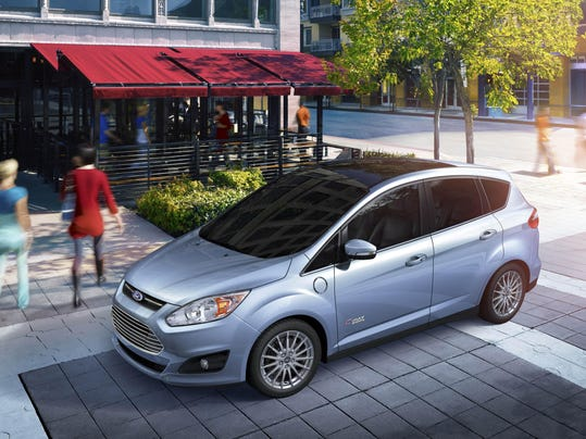Behind The Wheel 2015 Ford C-MAX Energi