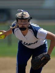 Erin Hocker was 17-0 as a senior while leading Great Falls High to an undefeated season and the Class AA state softball championship.