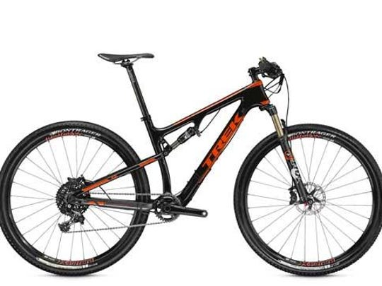 The seatpost of 2015 Trek 9.8 Superfly FS SL, X1 and XT bicycles can crack and break, posing a fall hazard to the rider.