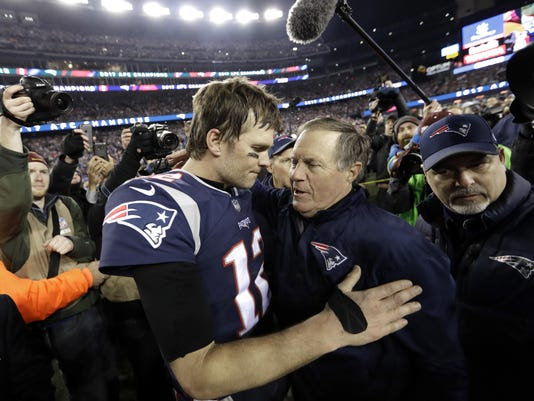 Tom Brady,Bill Belichick