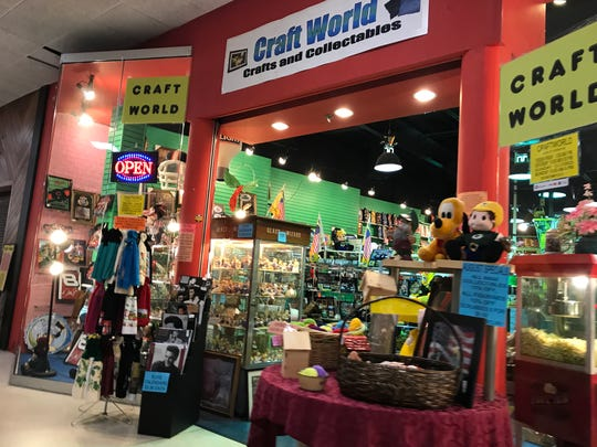 Craft World in the Rapids Mall