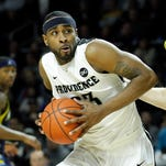 Providence senior forward and Eastern High LaDontae Henton (23) is averaging 19.7 points and 6.7 rebounds for the Friars.