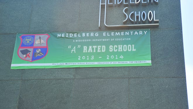Heidelberg Elementary School is the Clarksdale Municipal School District's only A-rated school.  Greg Jenson/The Clarion-Ledger Heidelberg Elementary School is located in the Clarksdale Municipal School District.