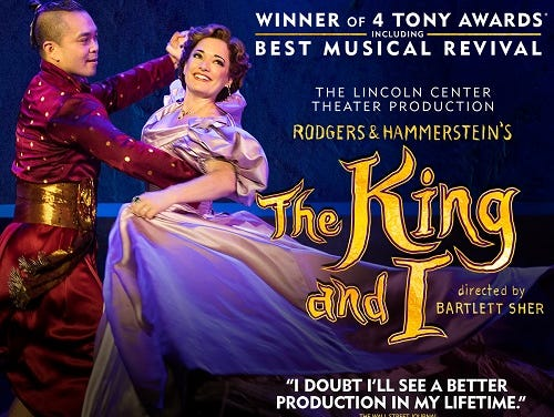 Snag tickets NOW for when the Fox Theatre hosts The King and I
