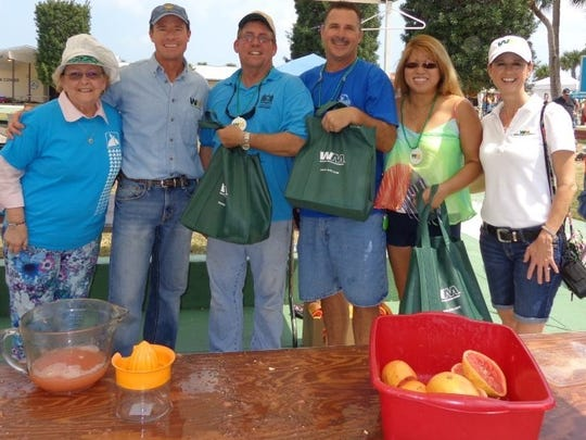 The Fort Pierce Utilities Authority has been the Citrus Squeeze-off champs for eight years running.