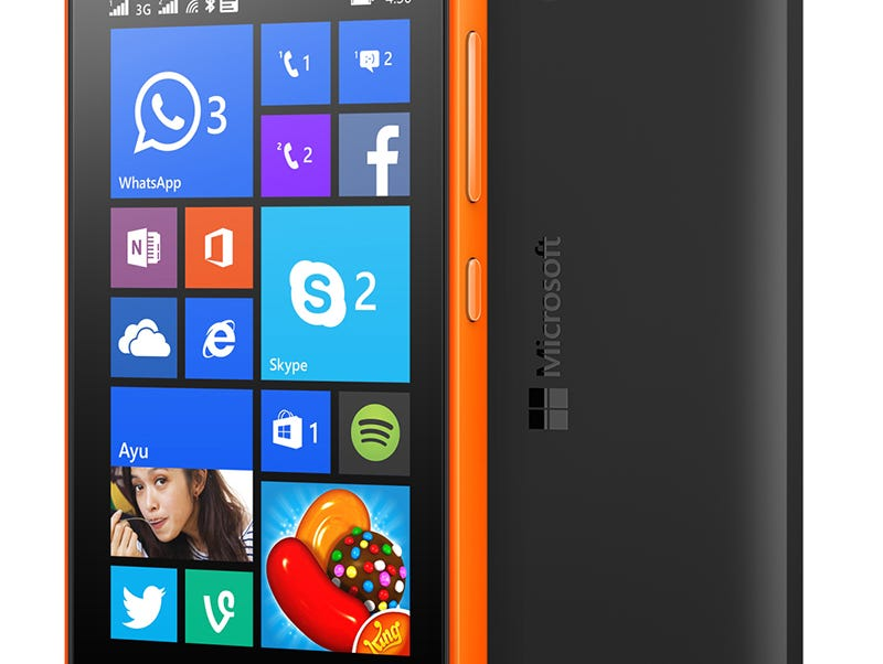 The Lumia 430 Dual SIM smartphone.