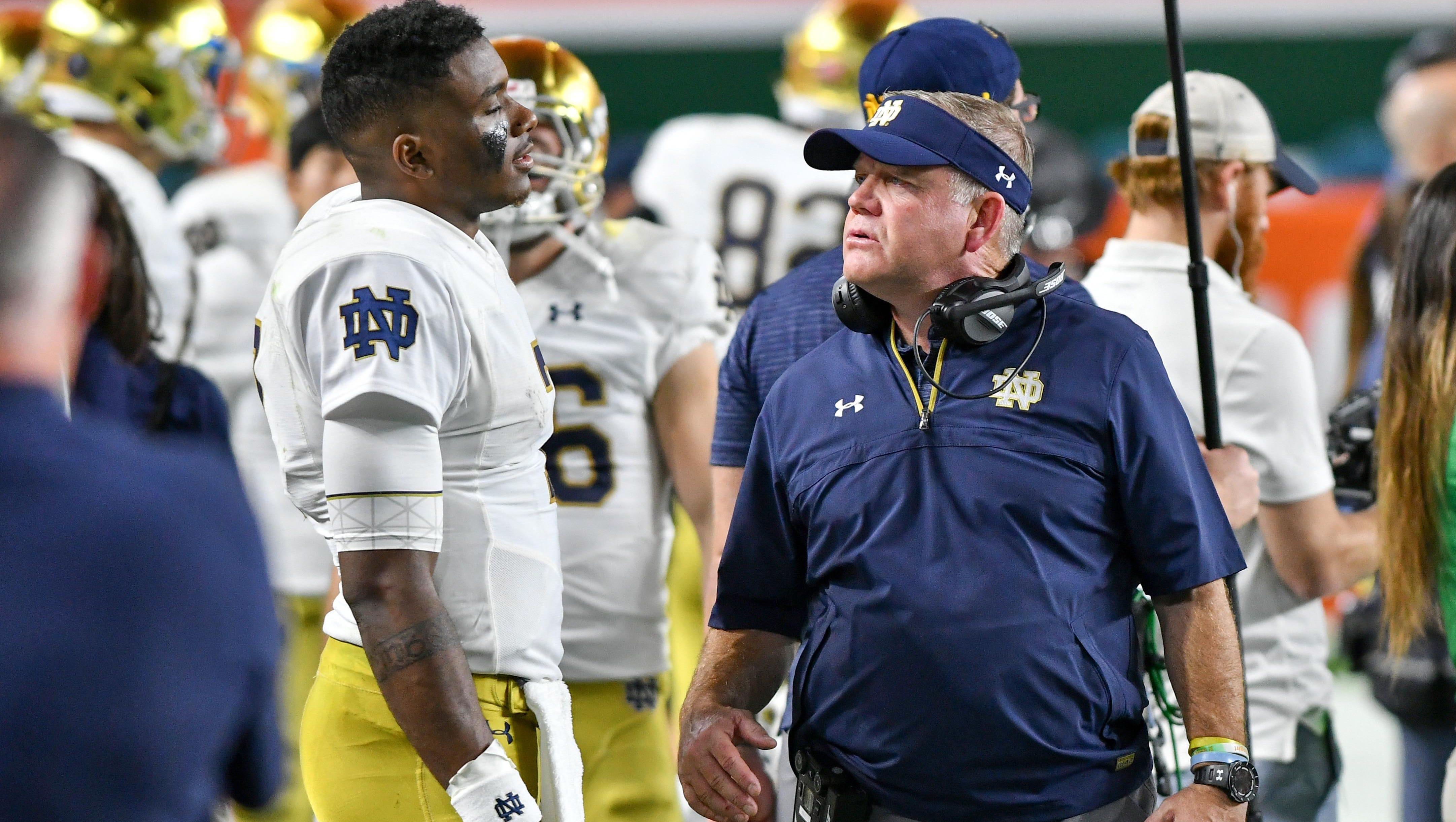 Notre Dame football: After Miami loss, Brandon Wimbush on to Navy