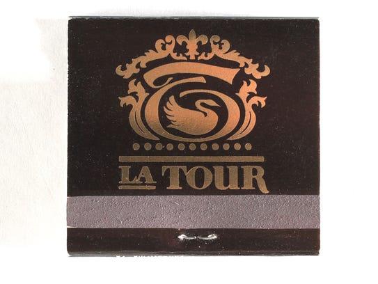 La Tour matchbook