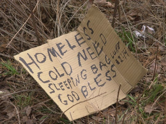 Panhandling is illegal in  Buncombe and Asheville, but it is still a common sight along roadways.