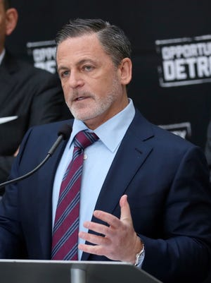 Dan Gilbert, Quicken Loans Founder and Chairman and owner of Cleveland Cavaliers, pictured on April 27, 2016 in Detroit, MI.