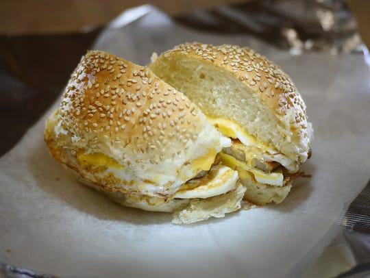 Photo of Breakfast Sandwich, photographed at Holland