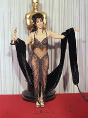 Cher wearing Bob Mackie in 1988.