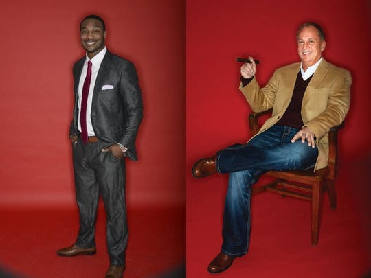 Some of bachelors eligible bachelors who will be featured in YOU Magazine's Man Issue.