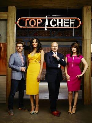 "Bravo's ""Top Chef"" judges for season 13 include Richard Blais, Padma Lakshmi, Tom Colicchio and Gail Simmons."