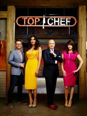 "Judges for season 13 of ""Top Chef"" include Richard Blais, Padma Lakshmi, Tom Colicchio, Gail Simmons."
