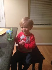 Beckett Josef Podomonick, 3, died at a home where Campbell