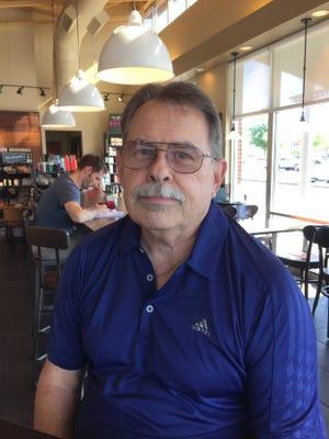 Ken Kasprzak, 72, has been bowling since he was 13.
