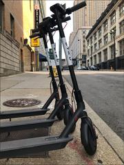 BIRD scooters are now in Cincinnati