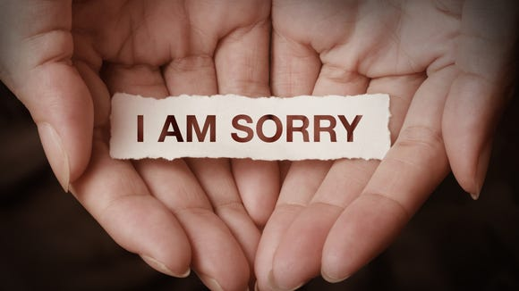 Apology is complex terrain.