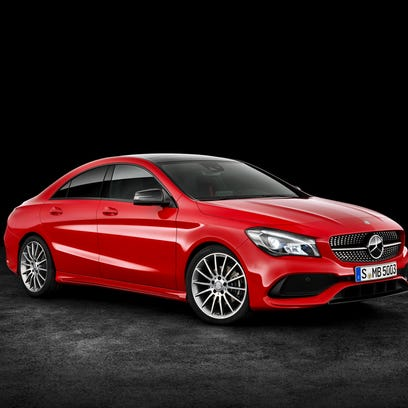 2017 Mercedes-Benz CLA gets a style upgrade