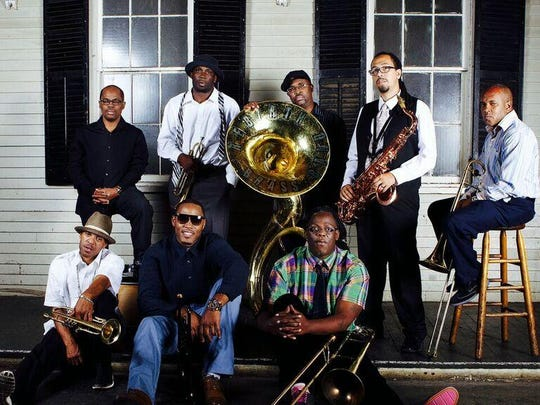 Rebirth Brass Band brings the sounds of New Orleans to The Side Bar Theatre on Thursday.
