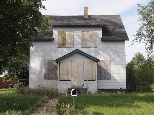 An abandoned home shown the summer of 2014 in St. Cloud.