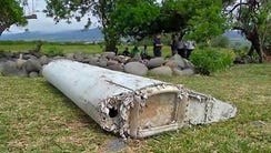 A piece of airplane debris has washed up on Reunion