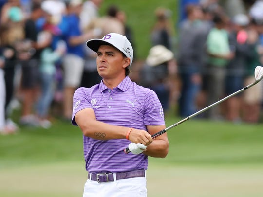 Rickie Fowler is coming off a two-week break. (Photo by Gregory Shamus/Getty Images)