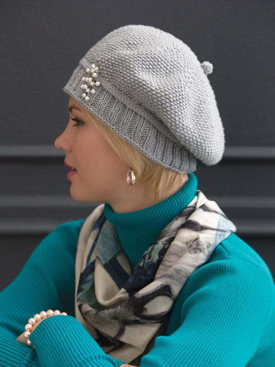 Free pattern for stylish knitted cap